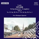 QUARTETTI X ARCHI VOL.6 (INTEGRALE): N.1 cd musicale di Louis Spohr