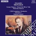GEMER DANCES OP.51 (SUITE X GRANDE ORC), cd musicale di Alexander Moyzes