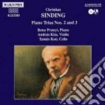 Sinding Christian - Trio X Pf N.2 Op.64, N.3 Op.87 cd musicale di Christian Sinding