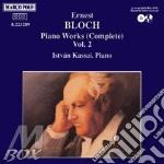 Opera integrale x pf vol.2: sonata, danz cd musicale di Bloch