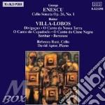 Sonata x vlc e pf op.26 n.1 $ david apt cd musicale di Enescu