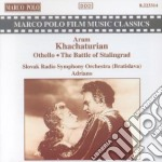 Othello / Battle Of Stalingrad cd musicale di Aram Khachaturian