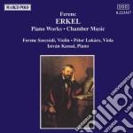 Erkel Ferenc - Musica X Pf E Musica Da Camera  - Kassai Istvan  Pf/szecsodi Ferenc Vl, Lukacs Peter Vla. cd musicale di F Erkel