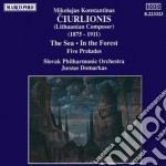 IL MARE (POEMA SINFONICO), NELLA FORESTA cd musicale di CIURLIONIS