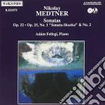 Medtner Nicolai - Sonata X Pf Op.22, Sonata Skazka N.1 Op.25, Sonata N.2 Op.25  - Fellegi Adam  Pf cd musicale di Nicolas Medtner