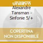 Sinfonia n.5, 4 movimenti x orchestra, s cd musicale di Tansman