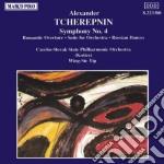 Tcherepnin Alexander - Sinfonia N.4 Op.91, Romantic Ouverture Op.67, Suite X Orchestra Op.87, Russian D  - Yip Wing-sie Dir  /czecho Slovak State Phil cd musicale di Nikolay Tcherepnin