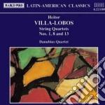 Villa-lobos Heitor - Quartetto X Archi N. 1, N.8, N.13 cd musicale di Villa lobos heitor