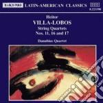 Villa-lobos Heitor - Quartetto X Archi N.11, N.16, N.17 cd musicale di Villa lobos heitor