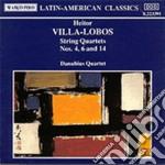 Villa-lobos Heitor - Quartetto X Archi N.4, N.6, N.14 cd musicale di Villa lobos heitor