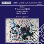 Villa-lobos Heitor - Quartetto X Archi N.5, N.9, N.12 cd musicale di Villa lobos heitor
