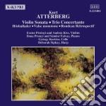 Atterberg - Sonata X Vl E Pf Op.27, Hostballader X Pf Op.15, Valse Monotone, Rondeau Retrosp  - Prunyi Ilona & Falvay S.  Pf/e.perenyi & A.kiss Vl, G. cd musicale di ATTERBERG