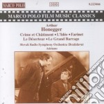 Arthur Honegger - Crime Et Chatiment cd musicale di Arthur Honegger