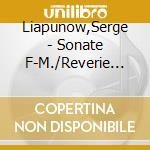 Sonata in fa mag, variazioni su un tema cd musicale di Liapunov