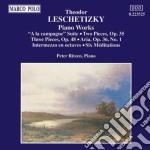 Leschetizky - Musica X Pf: Suite
