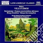 Villa-lobos Heitor - Rudepoema, Danze Caratteristiche Africane, Danza Frenetica, Danza Dos Mosquitos cd musicale di Lobos Villa