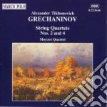 Grechaninov Alexander - Quartetto N.2 Op.70, N.4 Op.124  - Moyzes Quartet cd musicale di Alexande Grechaninov