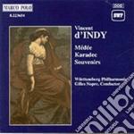 D'indy Vincent - Medee, Karadec, Souvenirs cd musicale di Vincent D'indy