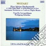 Mozart Wolfgang Amadeus - Eine Kleine Nachtmusik K 525, Serenata Notturna K 239, Lodron Night Music N.1 cd musicale di Wolfgang Sobotka