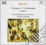 ARLESIANA, SUITE N.1 & 2, CARMEN, SUITE cd musicale di George Bizet