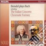 Bach Johann Sebastian - Musica X Pf: Concerto Italiano Bwv971, Capriccio Bwv992, Toccata Bwv911, Fantasi cd musicale di Johann Sebastian Bach
