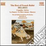Leo Delibes - Musica Per Balletto: Coppelia, Sylvia, La Source, Le Roi S'amuse, Kassaya cd musicale di LÉo Delibes