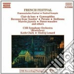 French Festival: Chabrier, Ravel, Faure, Godard, Debussy, Satie, Offenbach cd musicale