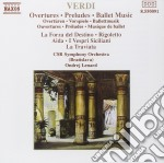 Verdi Giuseppe - Estratti Da La Forza Del Destino, Aida,rigoletto, Traviata, I Vespri Siciliani cd musicale di Ondrej Lenard