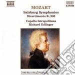 Mozart Wolfgang Amadeus - Divertimento K 136, K 137, K 138, K 205 cd musicale di Wolfgang Amadeus Mozart