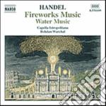 Handel Georg Friedrich - Fuochi D'artificio, Musica Sull'acqua cd musicale di HANDEL