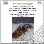 Rachmaninov Sergei - Concerto X Pf N.2 Op.18, Rapsodia Su Untema Di Paganini cd musicale di Gyorgy Lehel