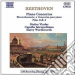 Beethoven Ludwig Van - Concerto Per Pianoforte N.3 Op.37, N.4 Op.58 cd musicale di Beethoven ludwig van