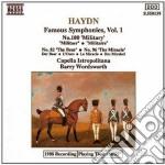Haydn Franz Joseph - Sinfonie Celebri Vol.1 cd musicale di Haydn franz joseph