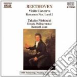 Beethoven Ludwig Van - Concerto Per Violino Op.61, Romanze Per Violino E Orchestra Op.40 cd musicale di Beethoven ludwig van