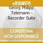CONCERTO X VLA IN SOL, SUITE IN LA MIN X cd musicale di Telemann georg phili