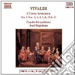 Vivaldi Antonio - L'estro Armonico: Concerto N.1, N.2, N.4, N.7, N.8, N.10, N.11 Op.3 cd musicale di Jozef Kopelman