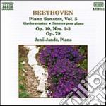 Beethoven Ludwig Van - Sonate X Pf Vol.5: N.5, N.6 , N.7 Op.10, N.25 Op.79 cd musicale di Beethoven ludwig van