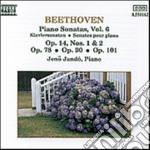 SONATE X PF VOL. 6 (INTEGRALE): N.9 OP.1 cd musicale di Beethoven ludwig van