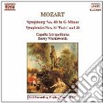 Mozart Wolfgang Amadeus - Sinfonia N.28 K 200, N.31 K 297