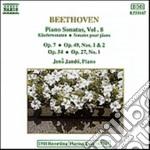 SONATE X PF VOL. 8 (INTEGRALE): N.4 OP.7 cd musicale di Beethoven ludwig van