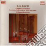 Bach J.S. - Organ Favourites cd musicale di Johann Sebastian Bach