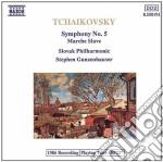 Tchaikovsky - Symphony No.5 cd musicale di Ciaikovski pyotr il'