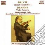 Brahms Johannes - Concerto X Vl E Orchestra N.1 Op.26 cd musicale di Max Bruch