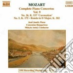 CONCERTI X PF VOL. 9 (INTEGRALE): CONCER cd musicale di Wolfgang Amadeus Mozart
