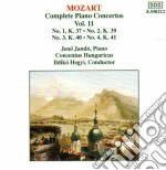 CONCERTI X PF VOL.11 (INTEGRALE): CONCER cd musicale di Wolfgang Amadeus Mozart