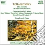 Tchaikovsky - Le Stagioni Op.37b, Chanson Triste, Romanza Senza Parole In La Min E In Fa, Nott cd musicale di Ciaikovski pyotr il'