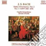 SUITE (OUVERTURES) NN.3-5 BWV 1068-1070 cd musicale di Johann Sebastian Bach
