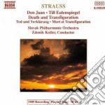 Strauss Richard - Don Juan Op.20, Morte E Trasfigurazioneop.24, Till Eulenspiegel Op.28 cd musicale di Richard Strauss