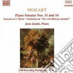 SONATA N.14 K 457, N.11 K 331, FANTASIA cd musicale di Wolfgang Amadeus Mozart
