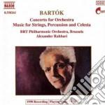 Bartok Bela - Concerto Per Orchestra, Musica Per Archi, Celesta E Percussioni cd musicale di Bela Bartok